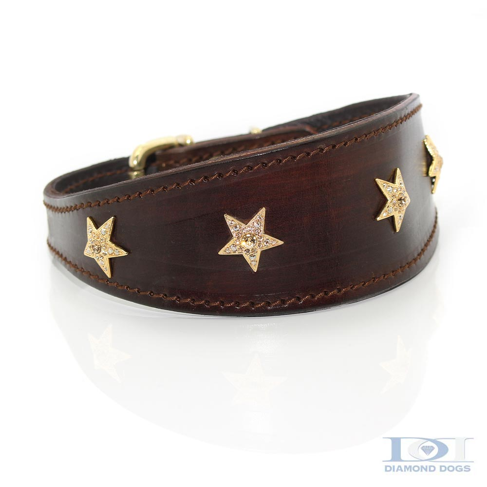 Tapered Gold Stars - Made with SWAROVSKI® ELEMENTS