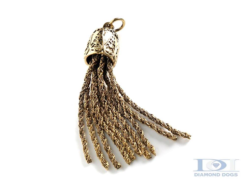 Antique Gold Tassel