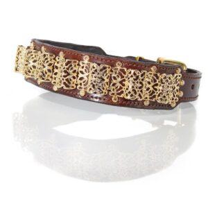 Gold Filigree Collar - Made with SWAROVSKI® ELEMENTS