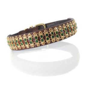 4 Row Gold Link Collar - Made with SWAROVSKI® ELEMENTS