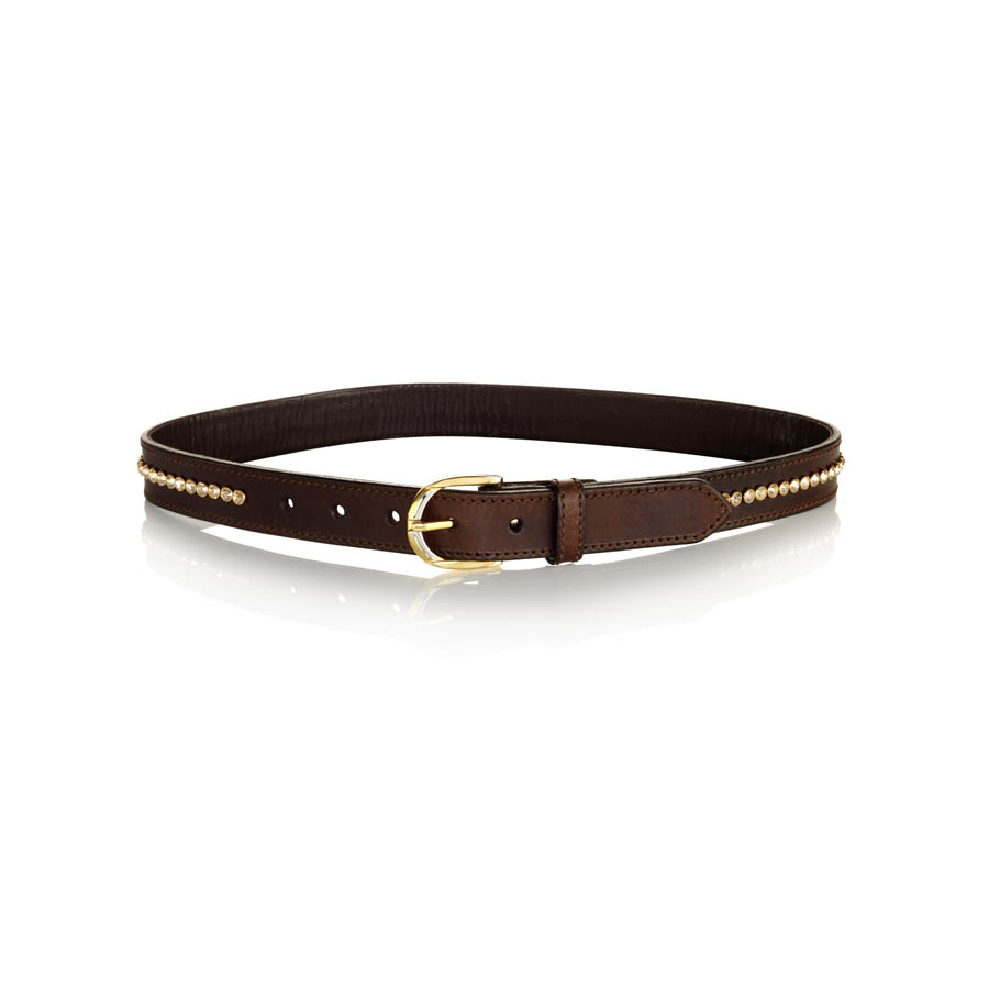 Single Row Large Crystal Belt - Made with SWAROVSKI® ELEMENTS