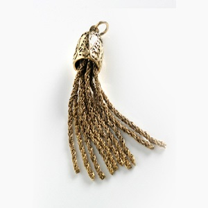 Antique Twisted Chain Tassels